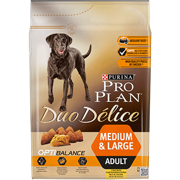 ​PURINA® PRO PLAN® Duo Delice Adult Small with OPTIBALANCE™ Rich in chicken
